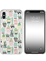 cheap -Case For Apple iPhone XS / iPhone XR / iPhone XS Max Pattern Back Cover Cartoon Soft TPU