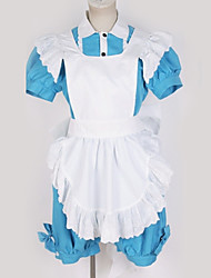 cheap -Inspired by Black Butler Cosplay Anime Cosplay Costumes Japanese Cosplay Suits Contemporary Shirt Top Skirt For Men's Women's / More Accessories / Hair Band / More Accessories / Hair Band