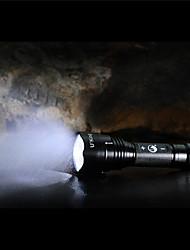 cheap -U'King ZQ-ZJTc8 LED Flashlights / Torch 1200LM LED LED Emitters 3 Mode Dimmable Camping / Hiking / Caving Outdoor / Aluminum Alloy