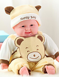 cheap -Reborn Doll Talking Toy Baby Boy 16 inch Silicone - Smart lifelike Kids / Teen Kid's Unisex Toy Gift
