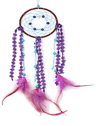 cheap -Handmade Dream Catchers Traditional Feather Wall Hanging Decoration