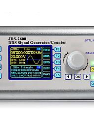 Недорогие -jds2600-60m ддс генератор сигналов счетчик цифрового управления синусоида двухканальный 0-60мГц