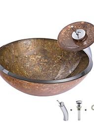 Недорогие -раковина для ванной комнаты / смеситель для ванной комнаты / крепежное кольцо для ванной комнаты антик