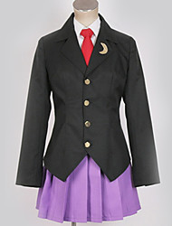 cheap -Inspired by Cosplay Cosplay Anime Cosplay Costumes Japanese Cosplay Suits British / Contemporary Coat / Blouse / Skirt For Men's / Women's
