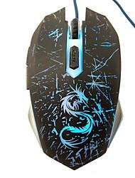 cheap -LITBest Light Wired USB Gaming Mouse Led Breathing Light 3200 dpi 3 Adjustable DPI Levels 6 pcs Keys