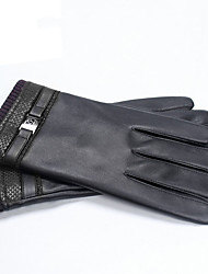 cheap -Full Finger Men's Motorcycle Gloves Leather Touch Screen / Warm