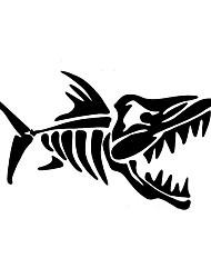 cheap -White / Black Car Stickers Cartoon / Sports / Cute Door Stickers / Car Tail Stickers Animal / Cartoon Stickers