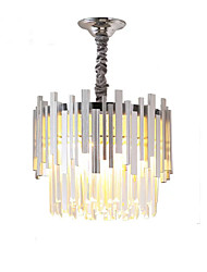 cheap -QIHengZhaoMing 6-Light 40 cm Chandelier Crystal Electroplated Traditional / Classic 110-120V / 220-240V