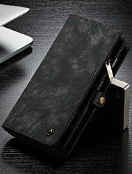 cheap -Case For Samsung Galaxy Galaxy S10 Plus Wallet / Card Holder / with Stand Full Body Cases Solid Colored Hard PU Leather