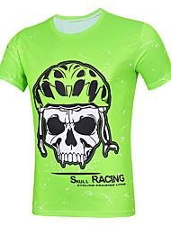cheap -cheji® Men's Short Sleeve Cycling Jersey Orange+White Sky Blue Yellow Bike Jersey Top Mountain Bike MTB Road Bike Cycling Quick Dry Sports Terylene Clothing Apparel