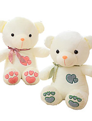 cheap -Bear Teddy Bear Stuffed Animal Plush Toy Animals Cute Cotton / Polyester All Toy Gift 1 pcs