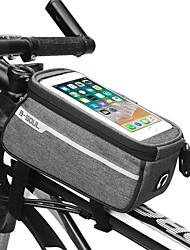 cheap -B-SOUL 1 L Cell Phone Bag Bike Frame Bag Portable Wearable Durable Bike Bag Terylene Bicycle Bag Cycle Bag Cycling / iPhone X / iPhone XR Outdoor Exercise Bike / Bicycle