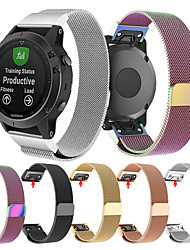 abordables -Bracelet de Montre  pour Fenix 5s / Fenix 5s Quickfit Garmin Bracelet Milanais Acier Inoxydable Sangle de Poignet