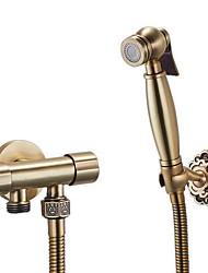 cheap -Bidet Faucet BrushedToilet Handheld bidet Sprayer Self-Cleaning Antique