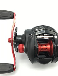 cheap -Fishing Reel Baitcasting Reel 6.4:1 Gear Ratio+9 Ball Bearings Right-handed / Left-handed Bait Casting / Lure Fishing