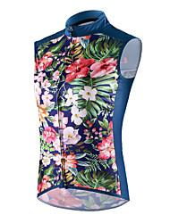 cheap -cheji® Women's Sleeveless Cycling Vest Dark Blue Bike Jersey Breathable Sports Clothing Apparel / High Elasticity