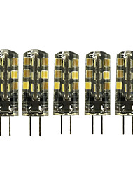 cheap -5pcs 2W 180LM G4 LED Corn Lights LED Bi-pin Lights 24 leds SMD 2835 Dimmable Warm White Cold White DC 12V