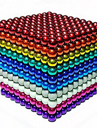 cheap -1000 pcs 3mm Magnet Toy Magnetic Balls Building Blocks Super Strong Rare-Earth Magnets Neodymium Magnet Neodymium Magnet Stress and Anxiety Relief Office Desk Toys DIY Kid's / Adults' / Children's