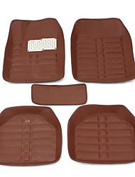 cheap -Universal Car Floor Mat Front And Rear Carpet Auto Mat All Weather Waterproof
