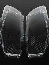 cheap -Pair Headlight Lens Cover Plastic Shell Lampshade For VW Passat B6 R36