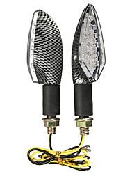 Недорогие -2pcs Проводное подключение Мотоцикл Лампы 15 Светодиодная лампа Лампа поворотного сигнала Назначение Suzuki / Honda / BMW Все года