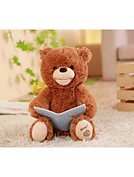 cheap -Bear Teddy Bear Talking Stuffed Animals Plush Toy Stuffed Animal Plush Toy Cute Dancing Talking Cotton / Polyester All Toy Gift 1 pcs