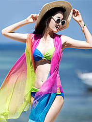 cheap -SANQI Women's Two Piece Swimsuit Swimwear Quick Dry Sleeveless Front Zip 3-Piece - Swimming Water Sports Patchwork Summer