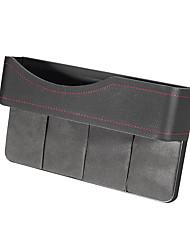 cheap -27X16cm PU Leather Car Seat Gap Storage Box Seat Slit Pocket Phone Holder