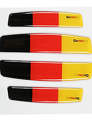 cheap -4pcs Car Door Edge Flag Emblem Anti Crash Guard Decal Australia/Germany/USA/UK