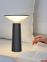 cheap -Table Lamp Eye Protection / Adjustable / LED Artistic / Simple Built-in Li-Battery Powered For Study Room / Office / Office DC 5V White / Black