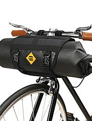 cheap -B-SOUL 12 L Bike Handlebar Bag Waterproof Portable Wearable Bike Bag TPU Leather Terylene Bicycle Bag Cycle Bag Cycling Outdoor Exercise Trail