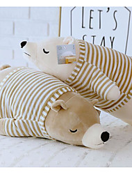 cheap -Stuffed Animal Sleeping Pillow Plush Toys Plush Dolls Stuffed Animal Plush Toy Polar bear Animals Cute Cotton / Polyester 50cm Imaginative Play, Stocking, Great Birthday Gifts Party Favor Supplies