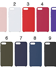 cheap -Case For Apple iPhone XS / iPhone XR / iPhone XS Max Pattern Back Cover Solid Colored Soft Silicone