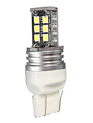 Недорогие -1 шт. T20 (7440,7443) Автомобиль Лампы SMD 2835 15 Светодиодная лампа Фары дневного света / Тормозные огни / Фонари заднего хода (резервные) Назначение Все года