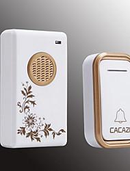 cheap -Smart Home Wireless Doorbell Exchange Digital Music Doorbell Long Distance Waterproof Wireless Remote Control Doorbell Launcher IP44 Waterproof One For One
