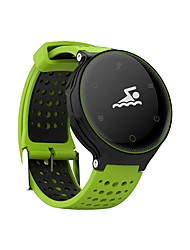 cheap -Couple's Sport Watch Quartz Silicone Black / Blue / Red Water Resistant / Waterproof Digital Casual Fashion - Red Green Blue
