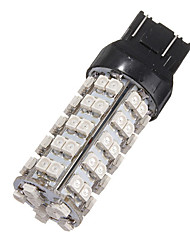 cheap -2.5W DC12V 3528 68 LED SMD Red Brake Stop Light Bulb