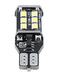 Недорогие -2 шт. Audew t15 906 w16w автомобиль светодиодные резервные фонари заднего хода лампы без ошибок 7.2 Вт 1200lm 6000 К