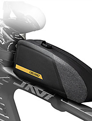 cheap -CoolChange 1 L Bike Frame Bag Bike Handlebar Bag Rain Waterproof Waterproof Zipper Dust Proof Bike Bag TPU Nylon Bicycle Bag Cycle Bag Cycling Outdoor Exercise Bike / Bicycle / Reflective Strips