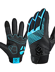 cheap -CoolChange Winter Bike Gloves / Cycling Gloves Mountain Bike MTB Thermal / Warm Waterproof Breathable Anti-Slip Full Finger Gloves Sports Gloves Black Red Blue for Adults' Outdoor
