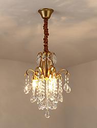 abordables -JLYLITE 3 lumières Mini Lustre Lumière d'ambiance Finitions Peintes Métal Style mini 110-120V / 220-240V