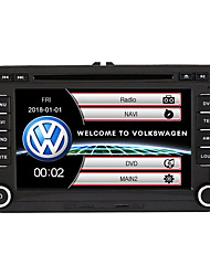 cheap -520WGNR04 7 inch 2 DIN Windows system In-Dash Car DVD Player Touch Screen Built-in Bluetooth for Volkswagen Support RDS / GPS / Steering Wheel Control / Subwoofer Output With HD Rearview Camera