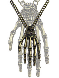 cheap -Skeleton / Skull Harajuku Girls Pendant Necklace Geek & Chic Punk & Gothic Alloy For Party Dailywear Women's Costume Jewelry Fashion Jewelry / 1 Necklace