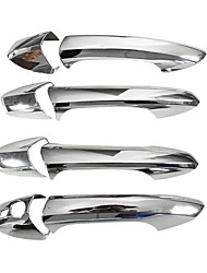 cheap -Car Door Handle Covers Trim ABS Chrome for Mercedes Benz B C E GLK ML CLA