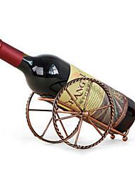 Недорогие -античная пушка стиль винный держатель для бутылок металлическая артиллерия винная стойка