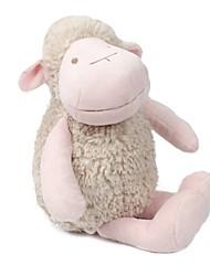 Недорогие -Овечья шерсть Мягкие и плюшевые игрушки Животные Очаровательный Хлопок / полиэфир Все Идеальный подарок для малышей и малышей / Дети