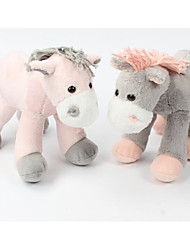 cheap -1 pcs Stuffed Animal Plush Toys Plush Dolls Stuffed Animal Plush Toy Horse Animals Cute Cotton / Polyester Imaginative Play, Stocking, Great Birthday Gifts Party Favor Supplies All Kids Teenager