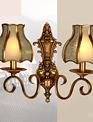 cheap -Creative Traditional Classic Wall Lamps & Sconces Indoor Metal Wall Light 220-240V 5 W