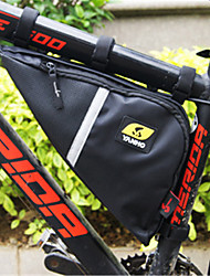 cheap -Wheel up 2.48 L Bike Frame Bag Top Tube Triangle Bag Large Capacity Portable Wearable Bike Bag Oxford Bicycle Bag Cycle Bag Cycling Outdoor Exercise Trail