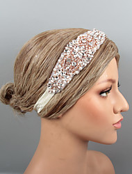 cheap -Feathers Headbands / Headpiece / Hair Accessory with Rhinestone / Crystal / Beading 1 pc Wedding / Party / Evening Headpiece